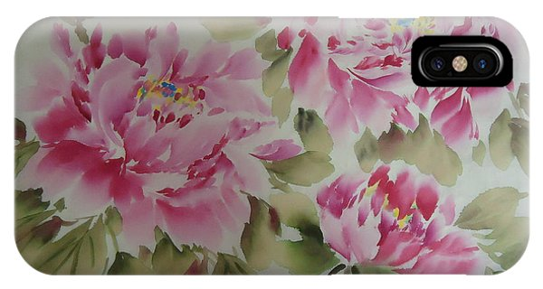 Pink  Peony 014 IPhone Case