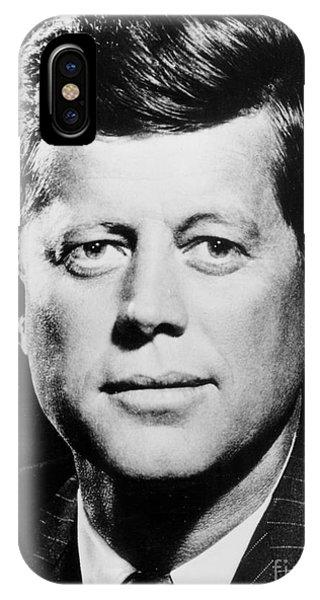 Portrait Of John F. Kennedy  IPhone Case