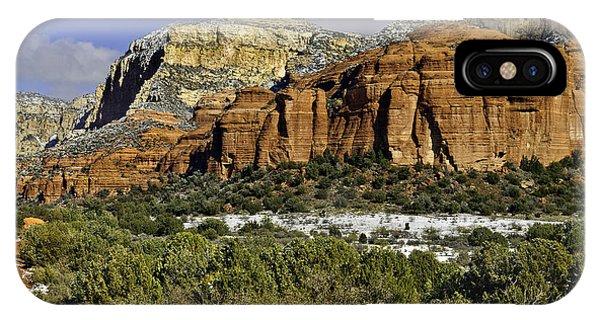 Red Rock-secret Mountain Wilderness IPhone Case