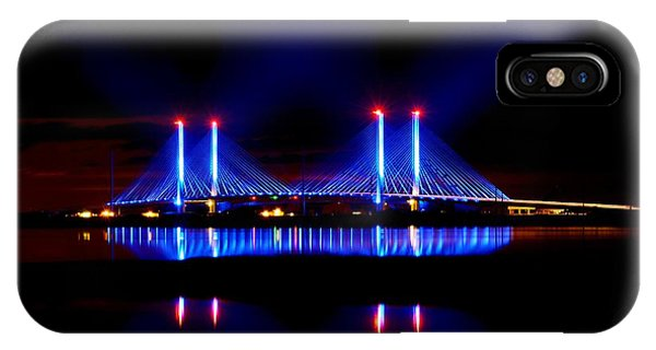 Reflecting Bridge - Indian River Inlet Bridge IPhone Case