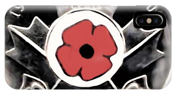 Remember Armistice Jour Du Souvenir  IPhone Case