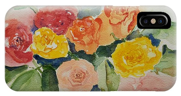 Roses For You Still Life IPhone Case