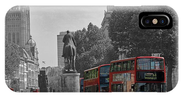 Routemaster London Buses IPhone Case