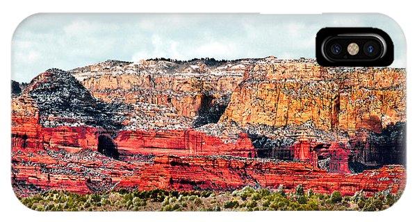 Secret Mountain Wilderness Sedona Arizona IPhone Case