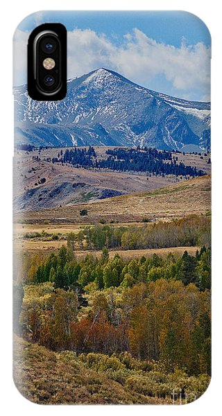 IPhone Case featuring the photograph  Sierras Mountains by Mae Wertz