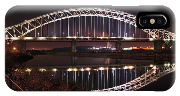 Silver Jubilee Bridge IPhone Case