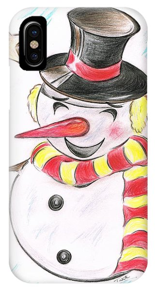 Snowmans  Stardom IPhone Case