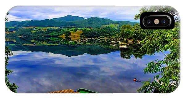 Stunning Mirror Lake By Julia Fine Art IPhone Case