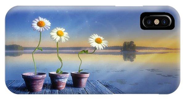 Salo iPhone Case -  Summer Morning Magic by Veikko Suikkanen