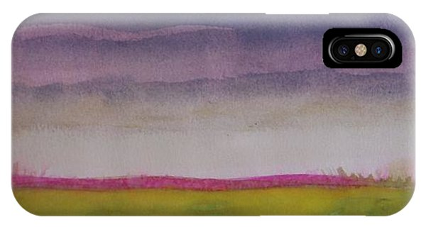 Sunset In Prairie IPhone Case