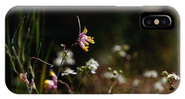 Tall Corydalis IPhone Case
