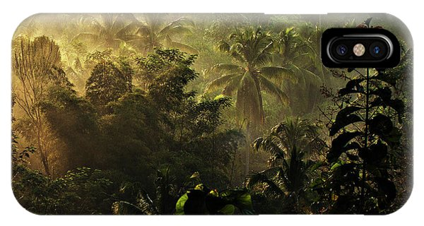 Morning Mist iPhone Case - ..... The Atmosphere Of The Morning ..... by Johanes Januar