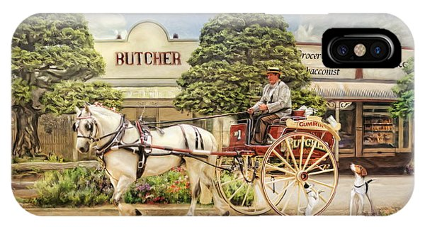 The Butchers Cart IPhone Case