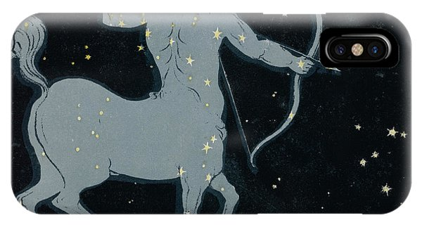 The Constellation Of  Sagittarius Phone Case by Mary Evans Picture Library