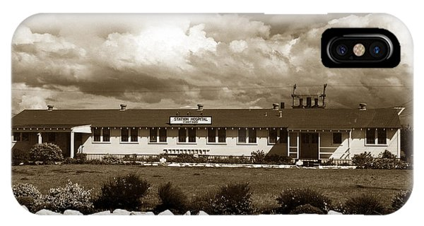 The Fort Ord Station Hospital Administration Building T-3010 Building Fort Ord Army Base Circa 1950 IPhone Case
