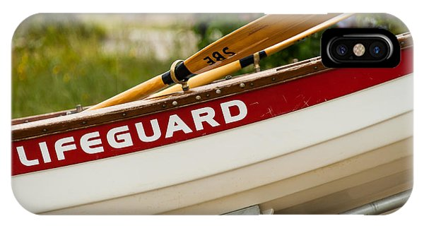 The Lifeguard Boat IPhone Case