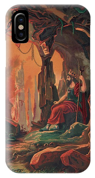 The Ruler Of The Underworld Phone Case by Mary Evans Picture Library