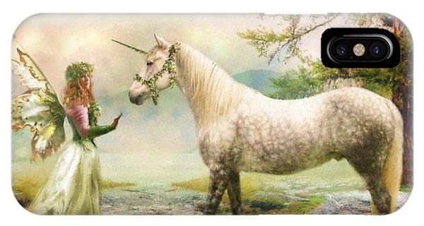 The Unicorn Fairy IPhone Case