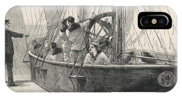 Training Naval Cadets On A  Swinging Phone Case by  Illustrated London News Ltd/Mar