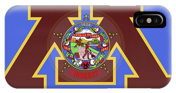 U Of M Minnesota State Flag IPhone Case