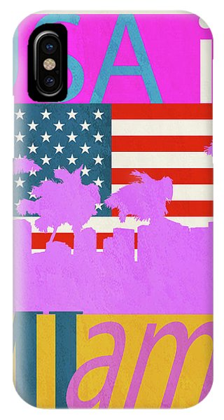 Usa Is Miami IPhone Case