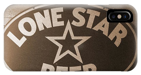 Vintage Sign Lone Star Beer IPhone Case