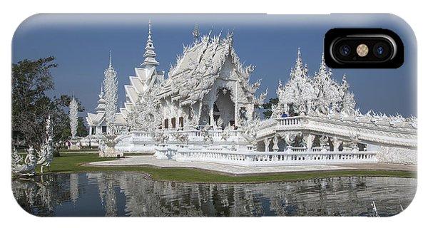 Wat Rong Khun Ubosot Dthcr0002 IPhone Case