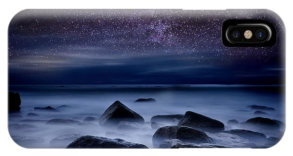 Night iPhone Case -  Where Dreams Begin by Jorge Maia
