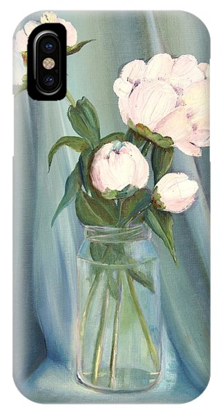 White Flower Purity IPhone Case