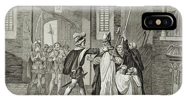 William I Arrests Odo, Bishop Phone Case by Mary Evans Picture Library