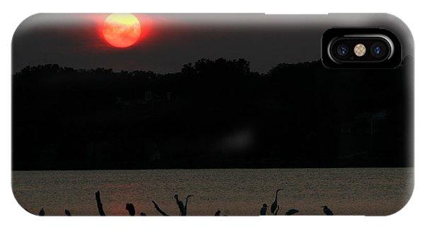 0016 White Rock Lake Dallas Texas IPhone Case