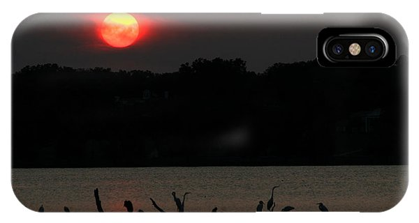 0016 White Rock Lake Dallas Texas IPhone Case