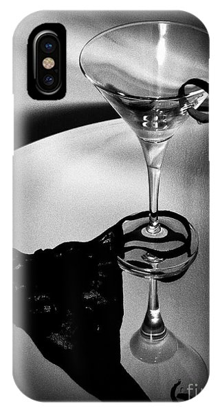 Martini Glass Charm IPhone Case