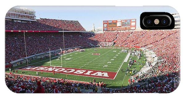 0251 Camp Randall Stadium - Madison Wisconsin IPhone Case