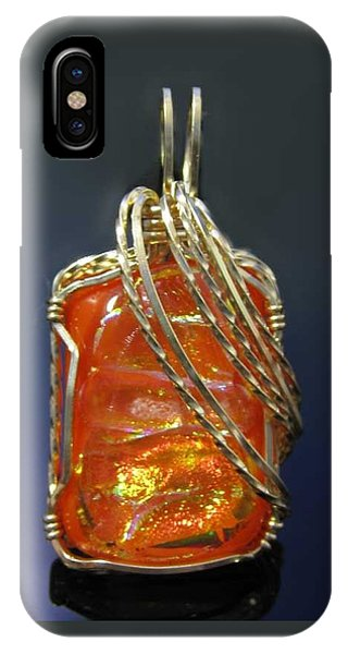 0294 Fiery Sunset IPhone Case