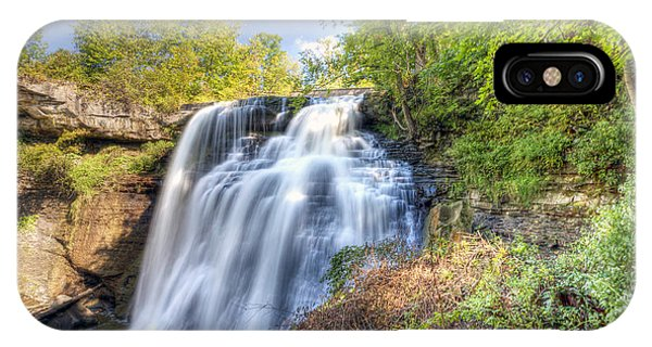 0302 Cuyahoga Valley National Park Brandywine Falls IPhone Case