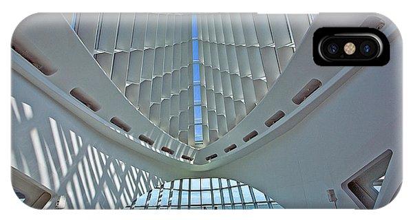 0354 Milwaukee Art Museum IPhone Case