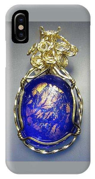 0477 Cobalt Scape IPhone Case