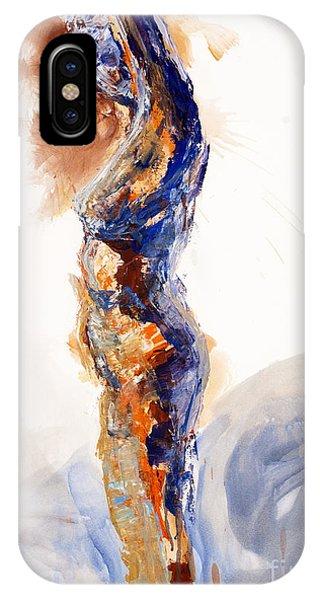 04894 Stretch Up IPhone Case