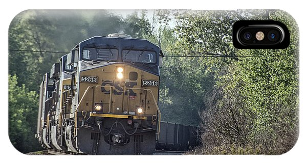 05.07.14 Csx Coal Train At Nortonville Ky Phone Case by Jim Pearson