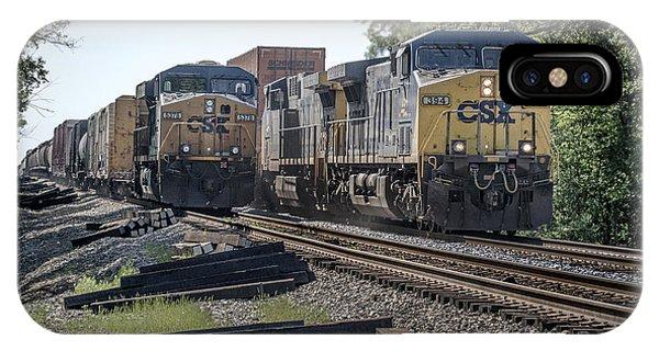 05.07.14 Csx Meet At Hopkinsville Ky Phone Case by Jim Pearson