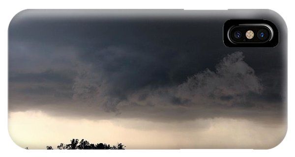 iPhone Case - 052913 - Severe Storms Over South Central Nebraska by NebraskaSC