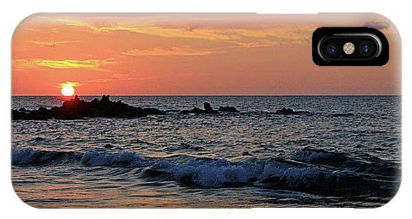 0581 Maui Sunset 2 IPhone Case