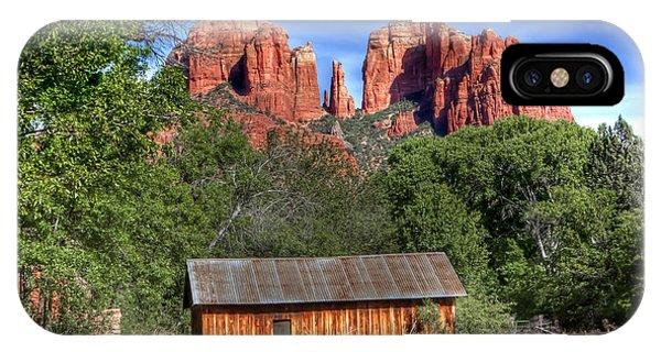 0682 Red Rock Crossing - Sedona Arizona IPhone Case