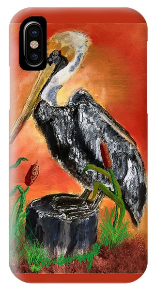 082914 Pelican Louisiana Pride IPhone Case