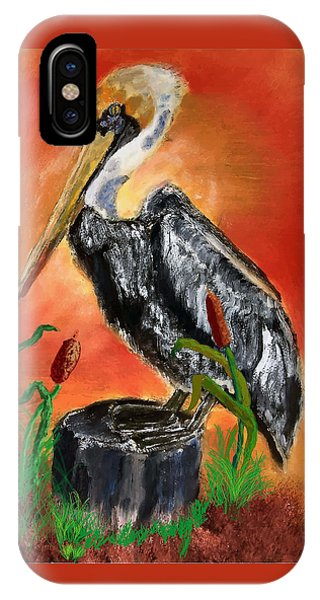 082914 Pelican Louisiana Pride IPhone Case