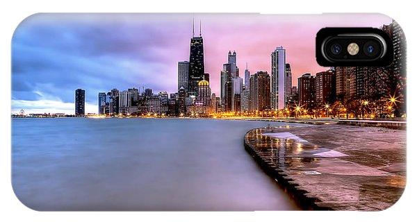 0865 Chicago Sunrise IPhone Case
