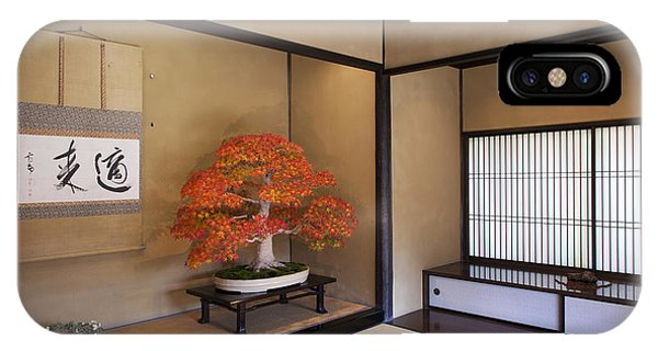 Alcove With A Bonsai IPhone Case