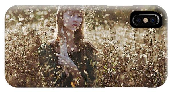 Fall Flowers iPhone Case - *** by Ksenia Sinyavina