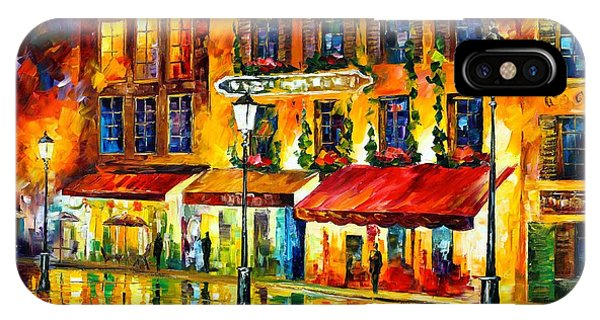 Paris Night Montmartre IPhone Case